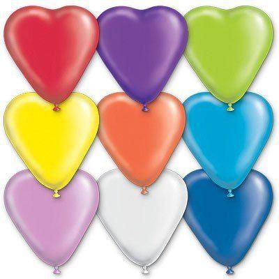 шары-сердца