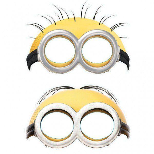 маски миньонов