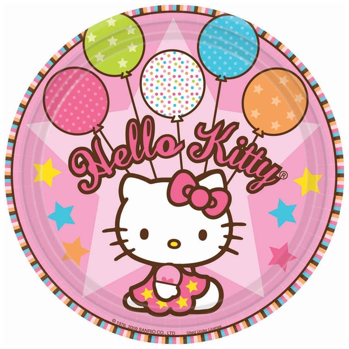 1502-0931 Тарелка Hello Kitty 17см 8шт/А