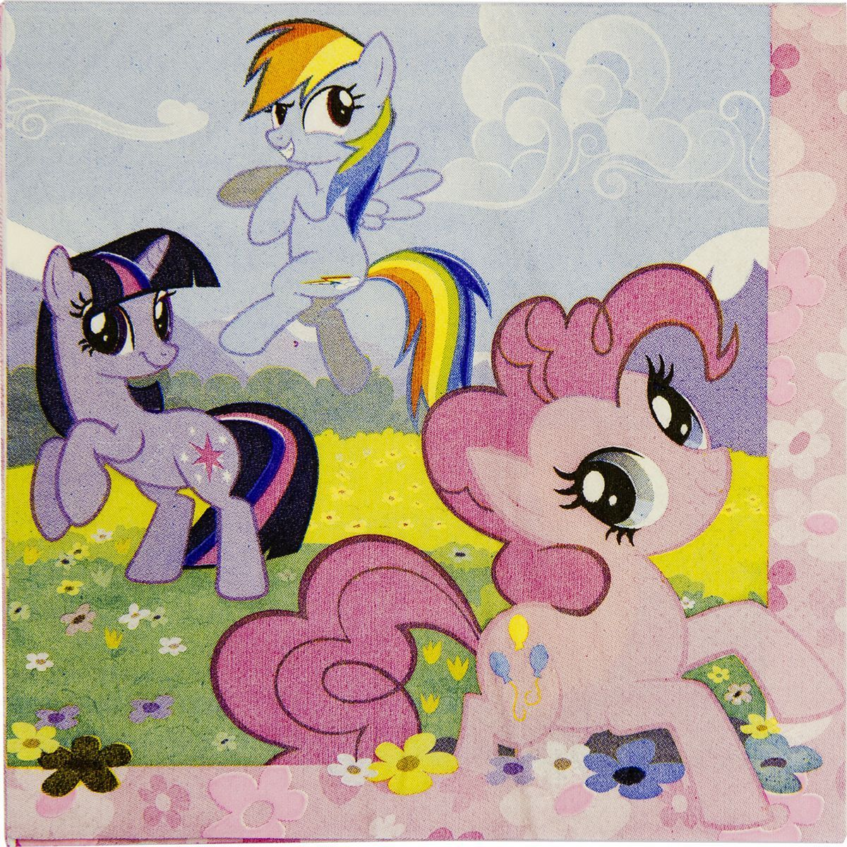 1502-1326 Салфетка My Little Pony 33см 16шт/A
