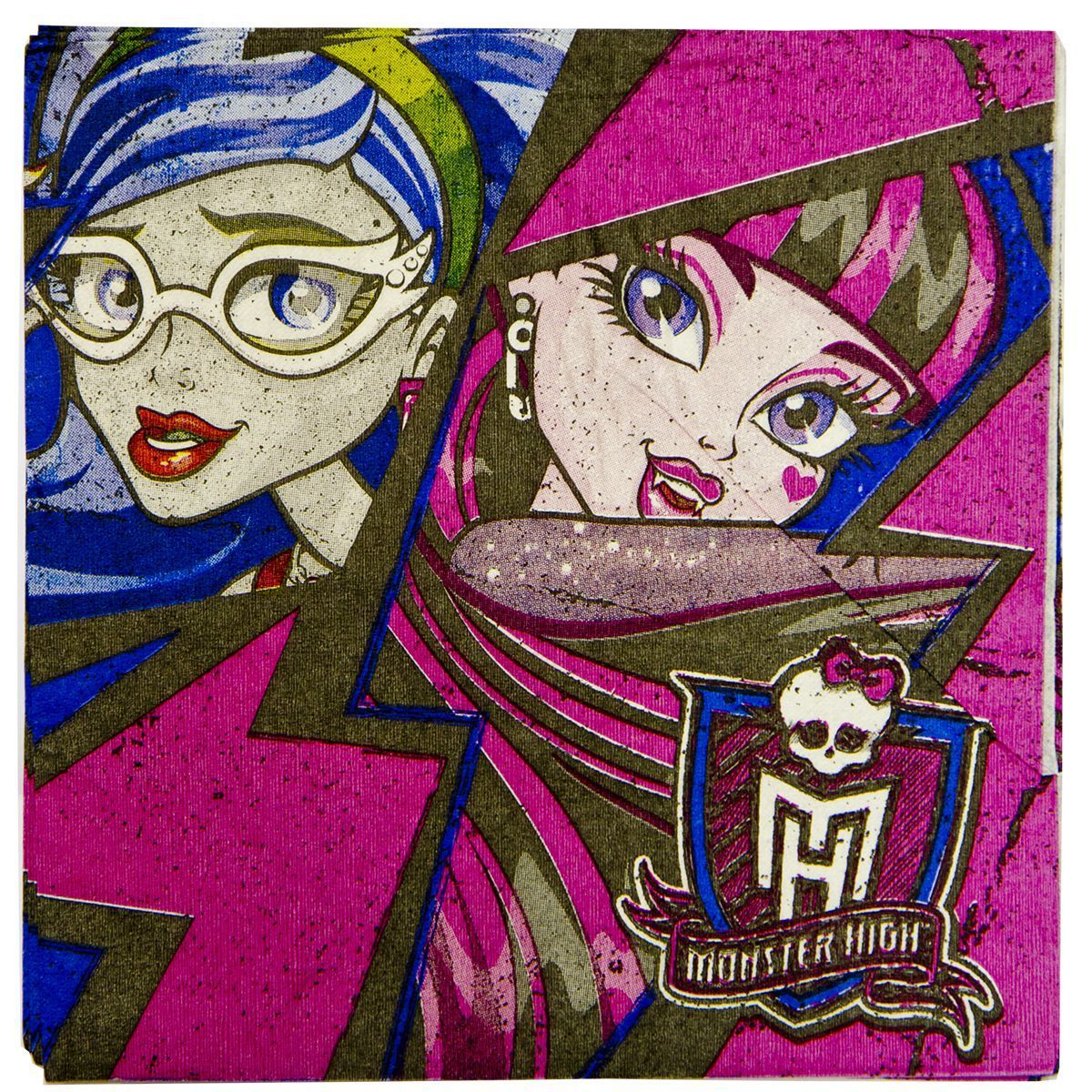 1502-1327 Салфетка Monster High 33см 16шт/A