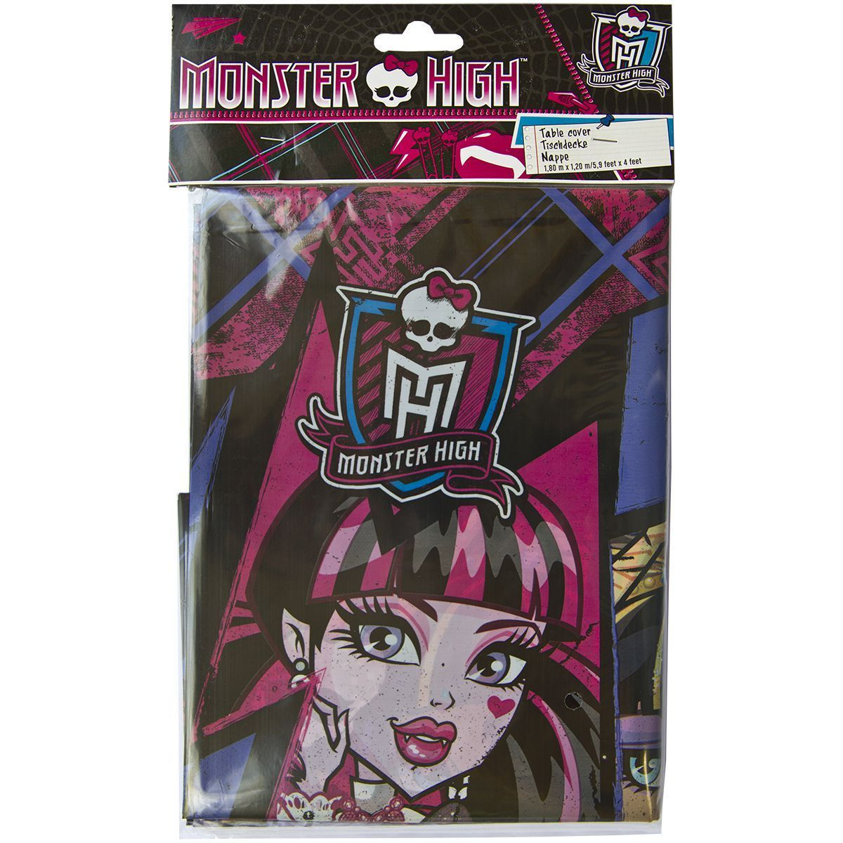 1502-1331 Скатерть п/э Monster High 1,2х1,8м/А