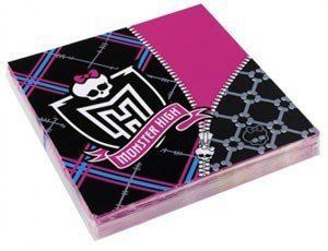 1502-3121 Салфетка Monster High2 33см 20шт/A